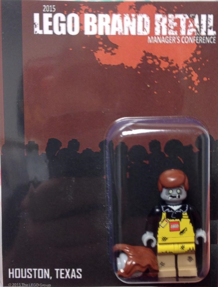 2015 LEGO Brand Retail Managers Conference Exclusive Minifigure - Zombies
