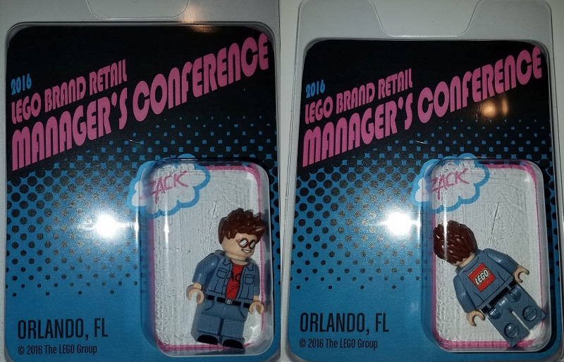 2016 LEGO Brand Retail Managers Conference Exclusive Minifigure - Zack