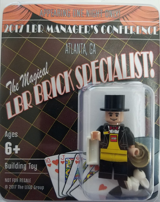 2017 LEGO Brand Retail Managers Conference Exclusive Minifigure - Magician