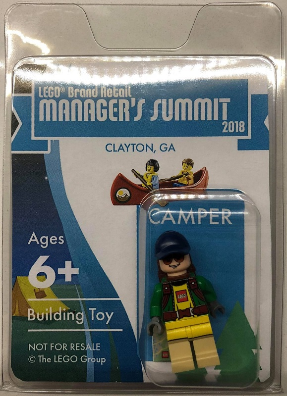 2018 LEGO Brand Retail Managers Conference Exclusive Minifigure - Camper