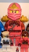 Lego Store Display Red Ninja with Sholder Guards