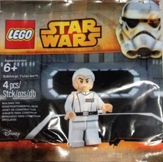 Two New Minifigures Spotted in the Wild.  Admiral Yularen and Trickster (Ugly Yellow Figure)