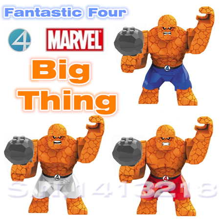 3-colors-Marvel-Super-heroes-Minifigures-Avengers-Fantastic-