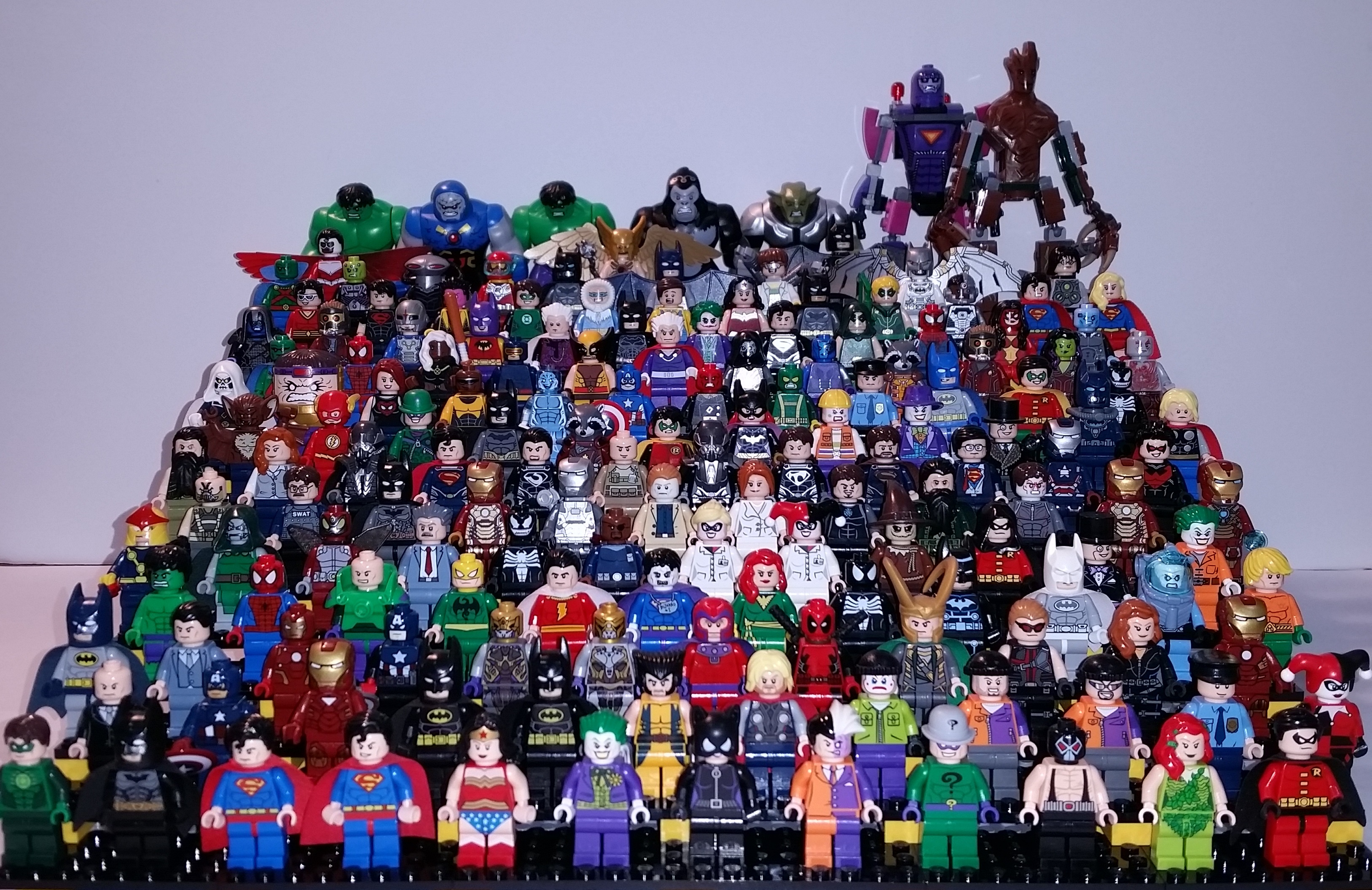 All Lego Toys : All lego super hero minifigures in one picture quick