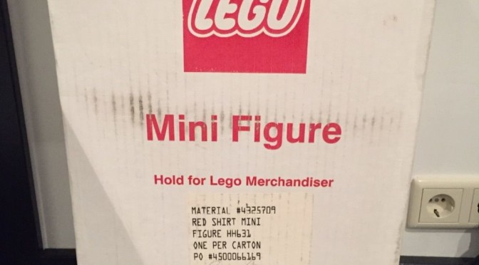 LEGO 19″ Display Figure Brand New in the Box.  I always wondered where these came from