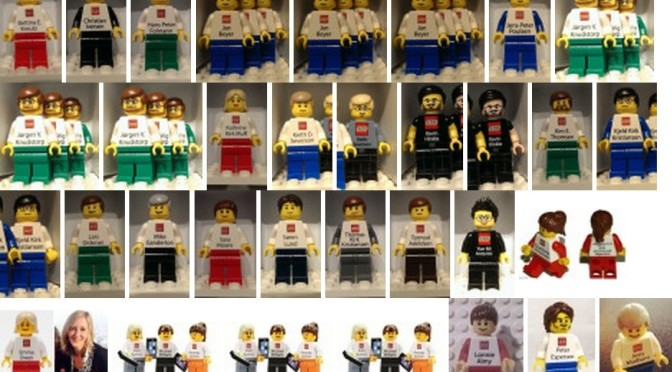 I located 9 more Lego Employee Business Card Minifigures for a total of 48 now