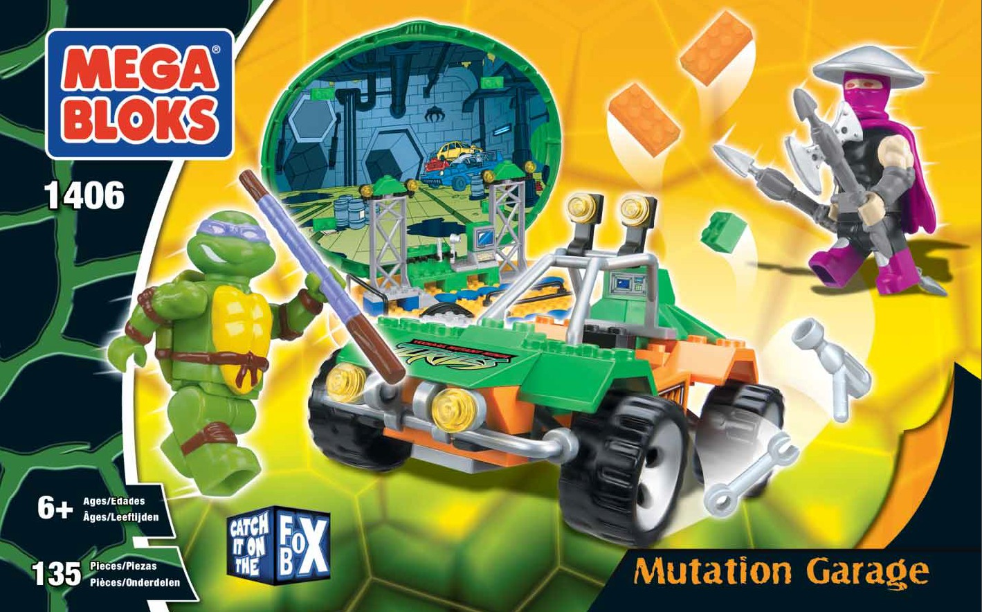 ... Mega Bloks Teenage Mutant Ninja Turtles MegaBloks from early 2000's