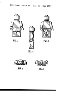 Lego 253711 Patent Page 1