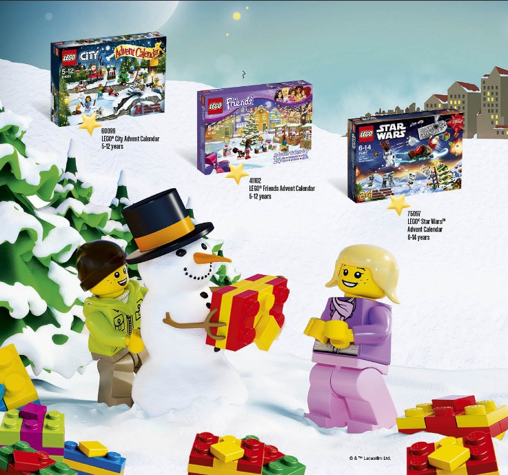 Several Summer 2015 Lego Catalogs are now posted online