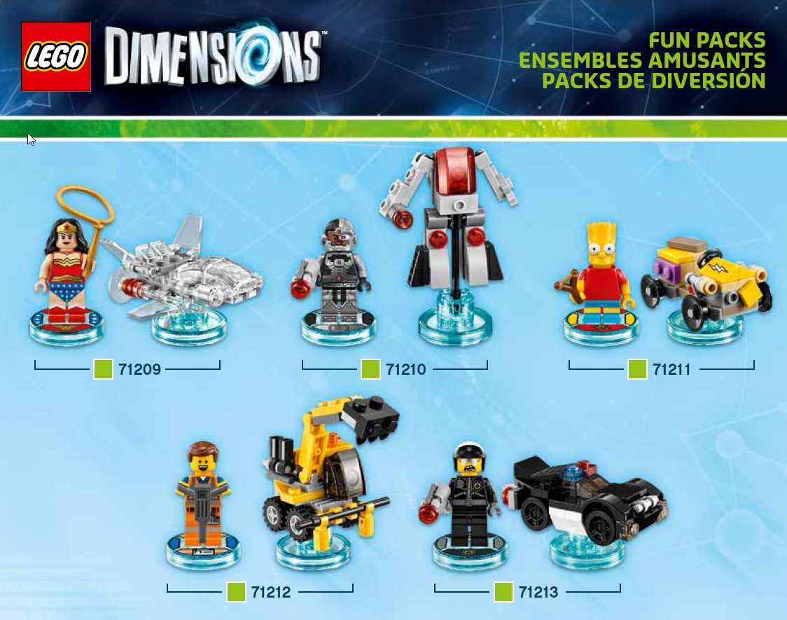 Lego Dimensions Minifigure Building Instructions Confirm That The