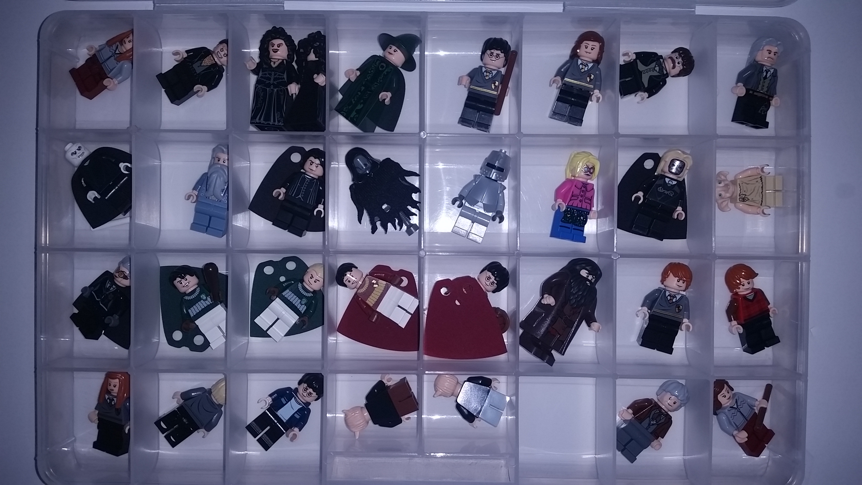 Lego Harry Potter Minifigure Collection From The Asian