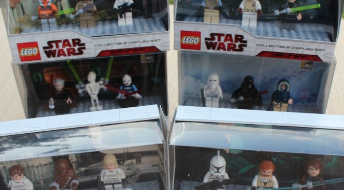 Lego SDCC 2009 San Diego Comic Con Collectible Display Sets – All 6 of them