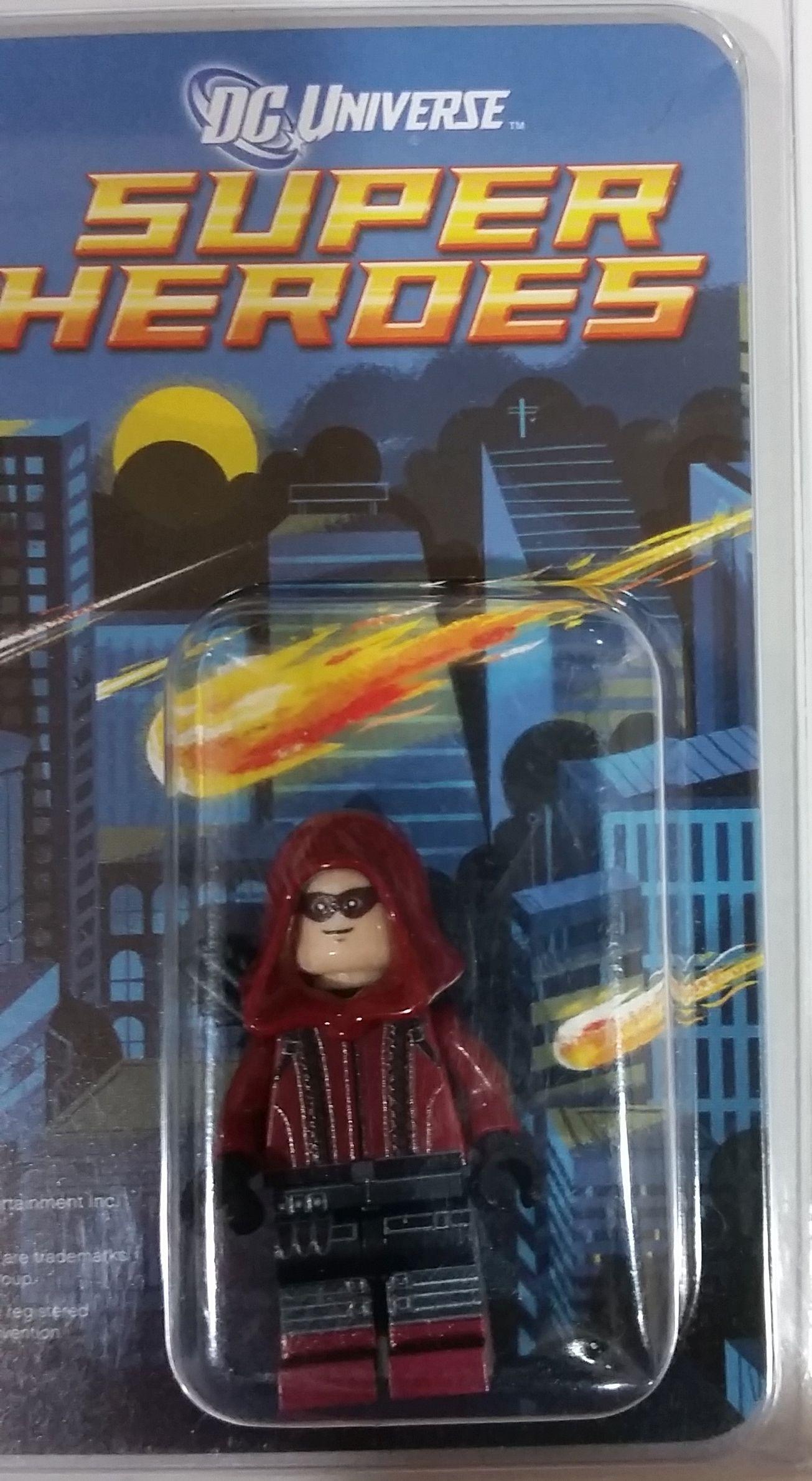 **NEW** LEGO Custom Printed SDCC RED ARROW DC Universe Arsenal Minifigure