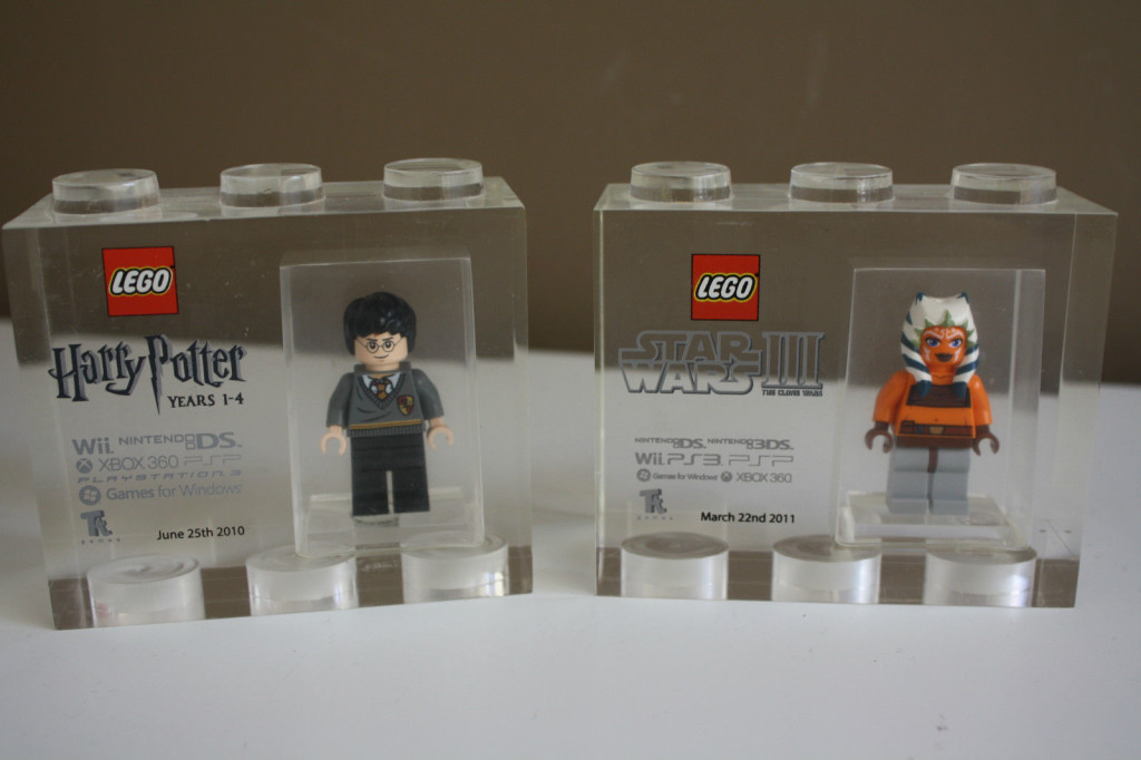 Lego tt games Acrylic trophy bricks Collection 2