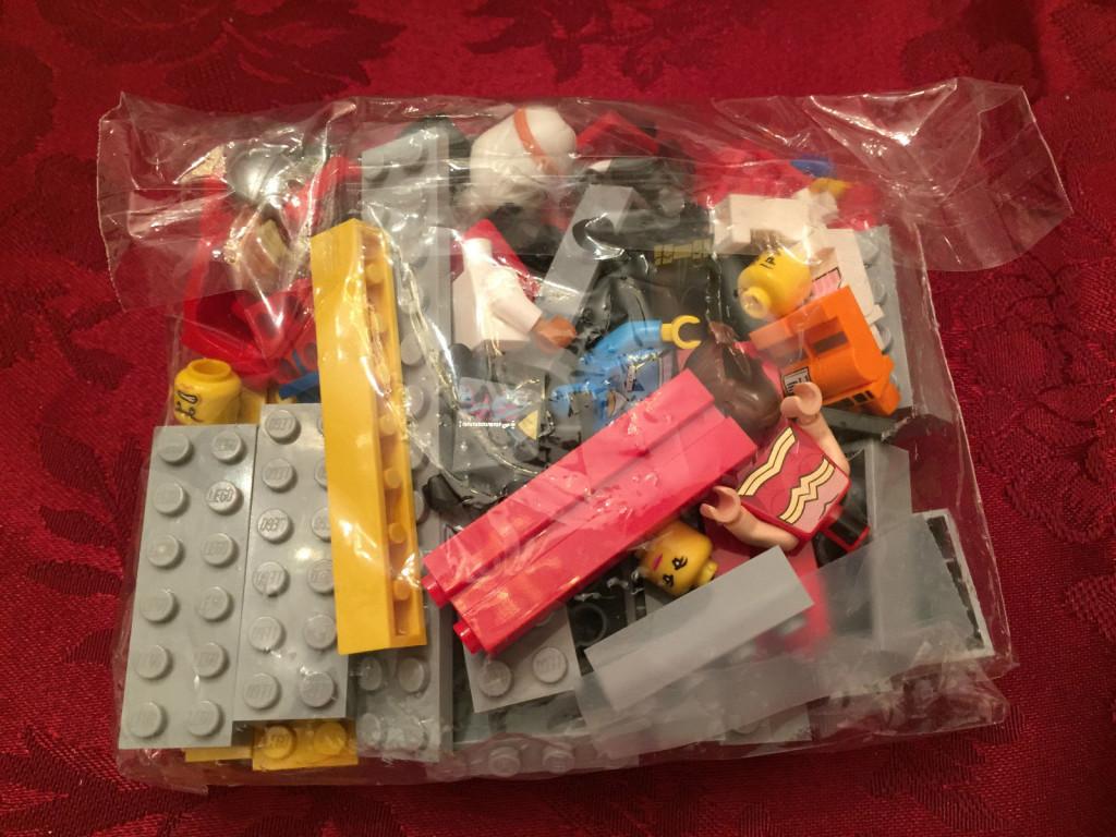 The Lego Movie Promotional Tin Sealed Parts Bag