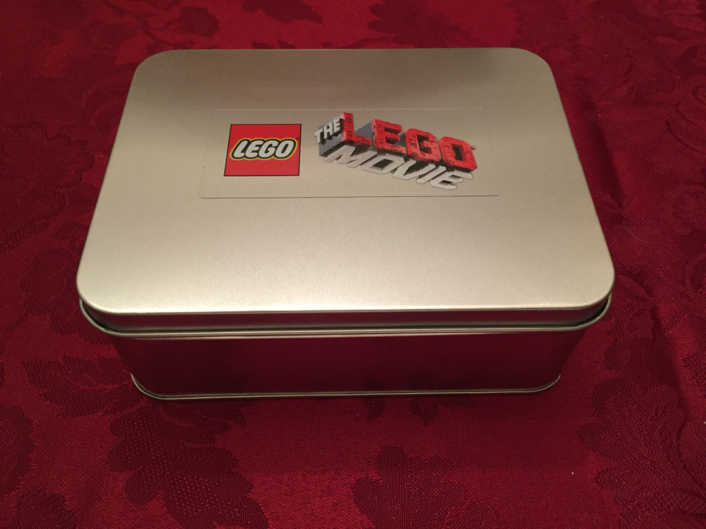 The Lego Movie Promotional Tin Sealed Tin Without Wrapper 2
