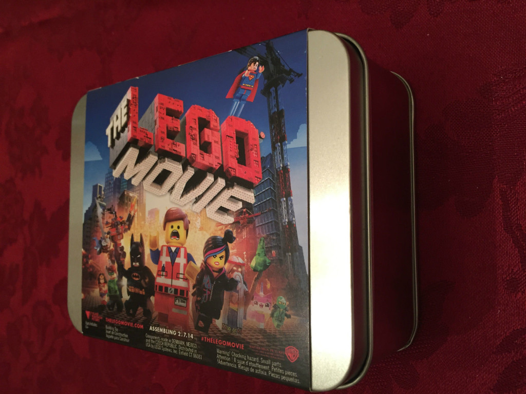 The Lego Movie Promotional Tin Sealed Top