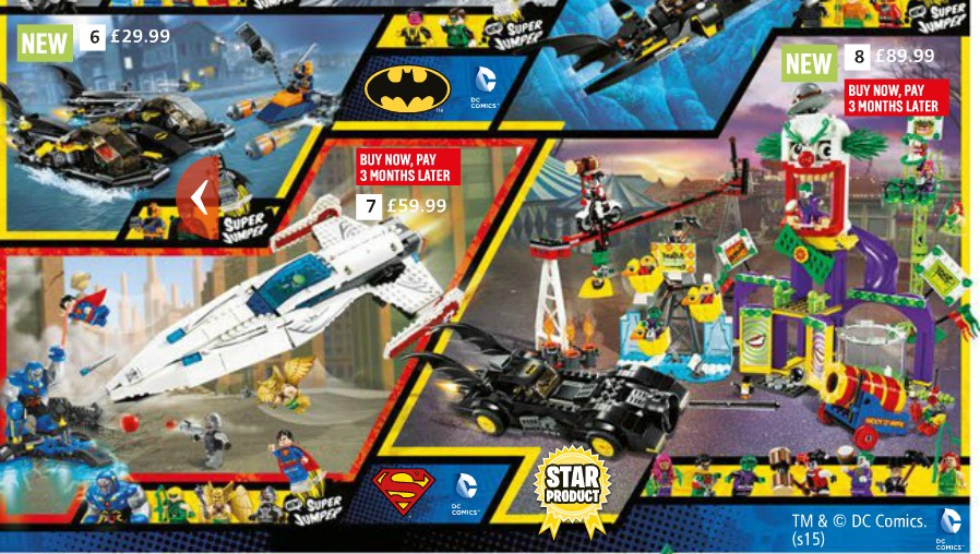Argos Catalog Batman Page