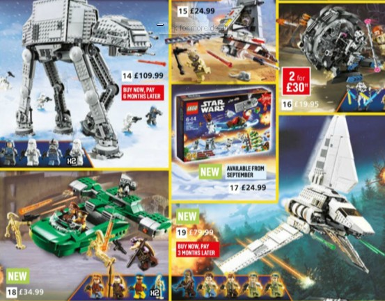 Argos Catalog Star Wars Page