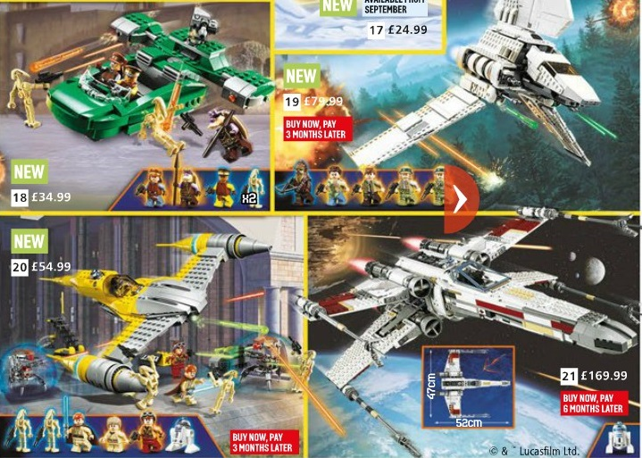 Argos Catalog Star Wars Page2