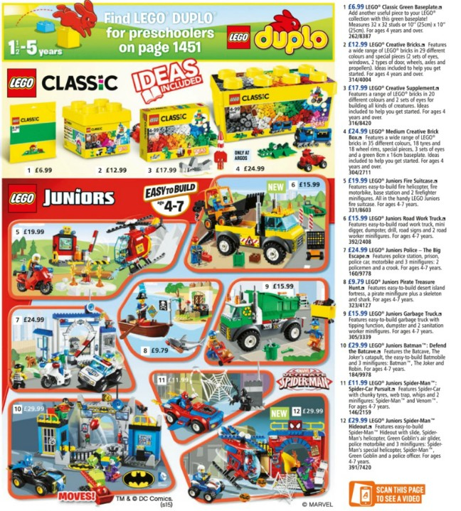 Argos Fall Summer Fall Catalog 2015 Page 1