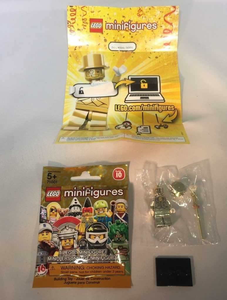 Lego Mr Gold 4599 Minifigure