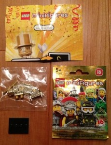 Lego Mr Gold 712 or 732 or 782