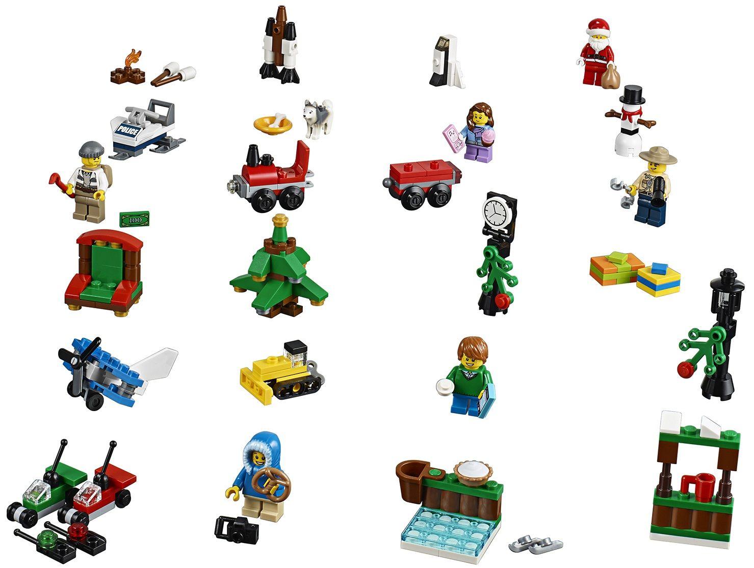 Lego City Advent Calendar Related Keywords & Suggestions - 2015 Lego ...