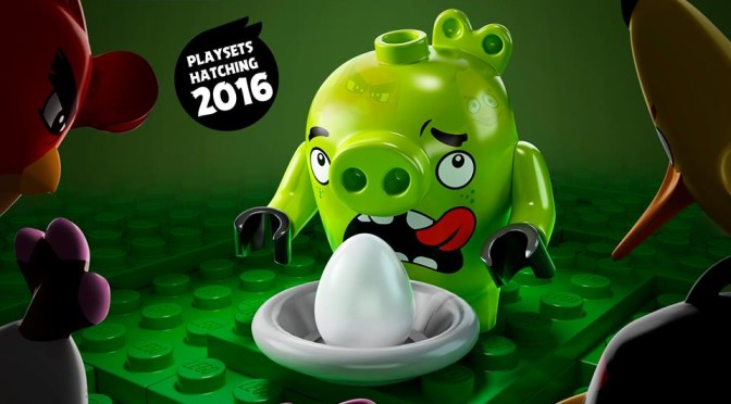 Lego Angry Birds 2016 updated minifigure Picture