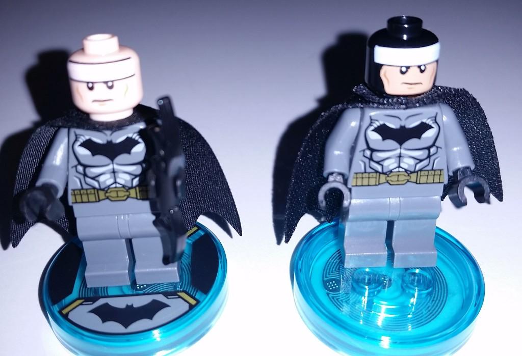 Lego Dimensions Batman Different Head Front