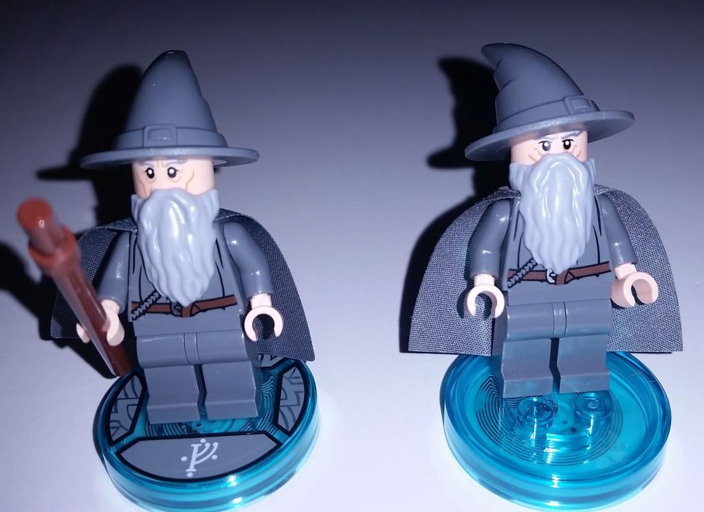 Lego Dimensions Gandalf Different Face
