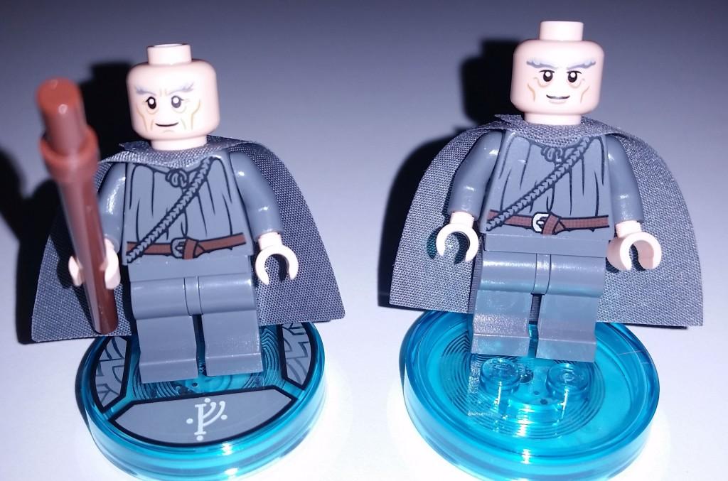 Lego Dimensions Gandalf Different Head