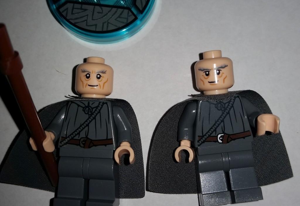 Lego Dimensions Gandalf has a new head