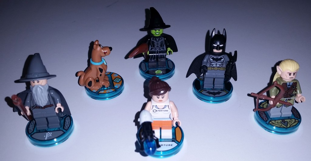Lego Dimensions Wave 1 Unique Figures