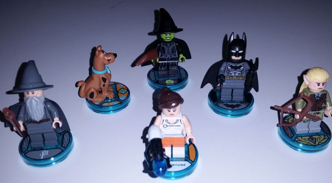 Lego Dimensions Unique Licensed Figures from Wave One