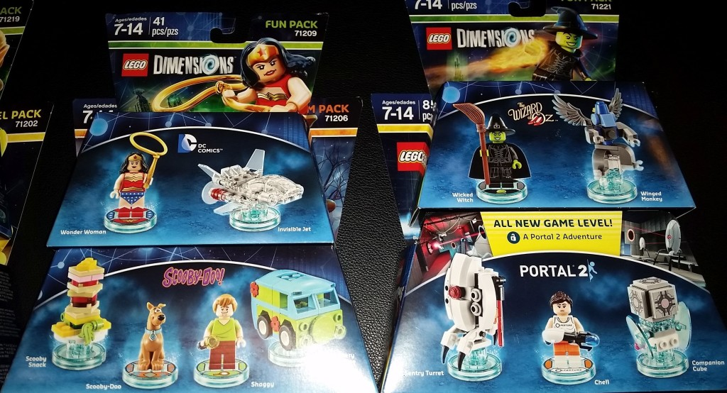 Lego Dimensions that I purchased 2