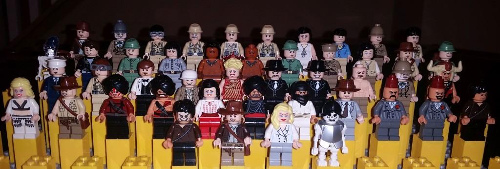 Lego Indiana Jones Complete Minifigure Collection
