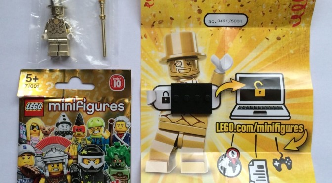 Lego Mr Gold Number 461 Just Showed up in the Wild – Another one ...