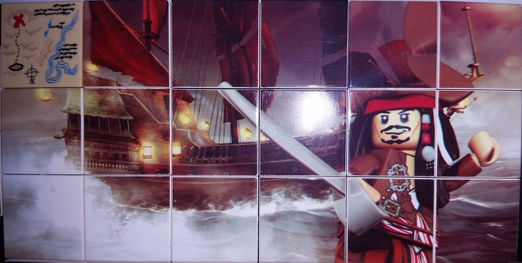 Lego Nintendo DS Printed Pirates of the Caribbean Tiles