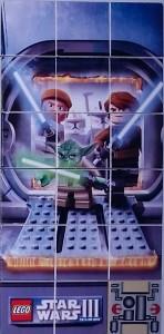 Lego Nintendo DS Printed Star Wars Tiles