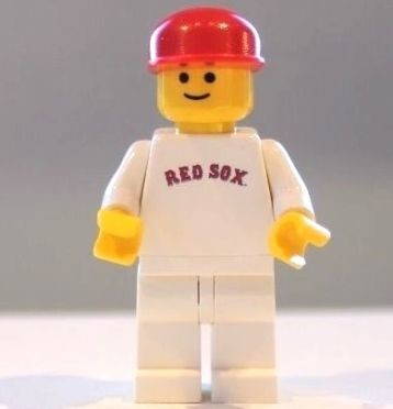 Rare Red Sox Fenway Park Minifigure from 1999 | Minifigure Price Guide