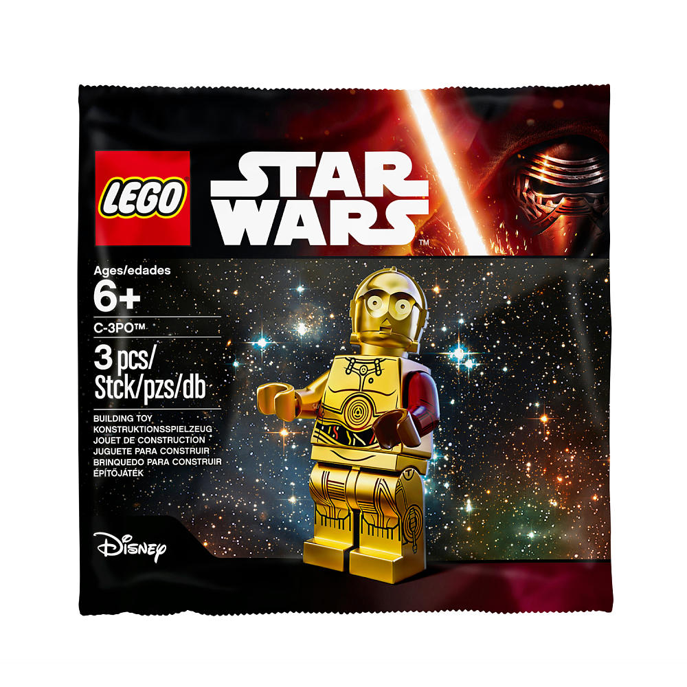 5002948 Red Armed C-3po hi resolution photo Polybag