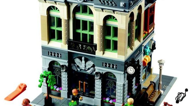 Lego Creator Brick Bank Detailed Review Set