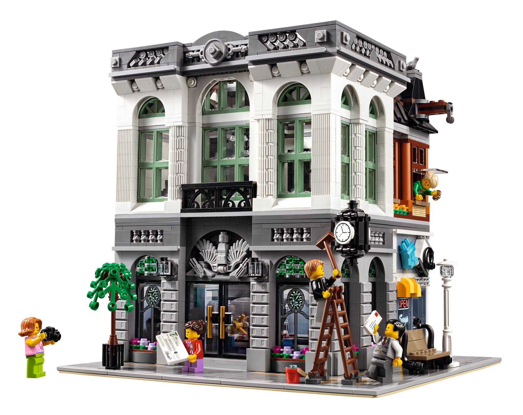 Lego modular bank laundromat for january 2016 release set 10251 all information known