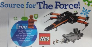Lego Red Arm C-3PO free with $40 purchase at US Toys R US 5002948