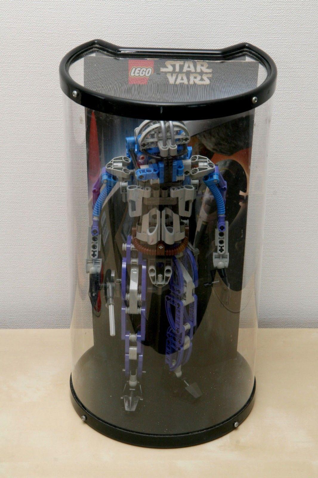 Lego Star Wars 8011 Jango Fett Retail Store Display Case front