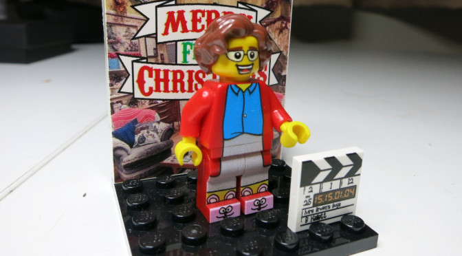 AGNES BROWN MRS BROWNS BOYS LEGO MINI FIGURE RARE PRESENTED TO CAST ...