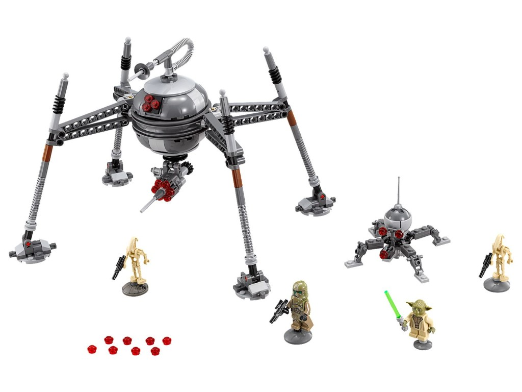Lego 75142 homing spider droid 2016 star wars set posted to lego server overnight minifigure - Lego star wars base droide ...