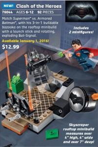 Lego DC Superheroes 76044 Clash of Heores
