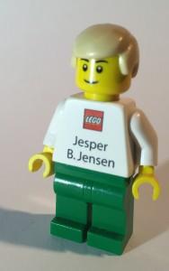 Lego Employee Business Card Minifigure Jesper B. Jensen